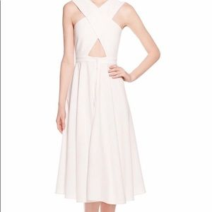 Kendall + Kylie white dress.  Xs
